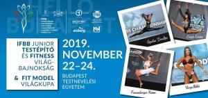 Junior testépítő és fitness világbajnokság: A világ 300 legjobb versenyzője érkezik Budapestre